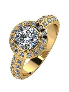 moissanite-moissanite-premier-collection-9ct-gold-140ct-total-moissanite-halo-ring