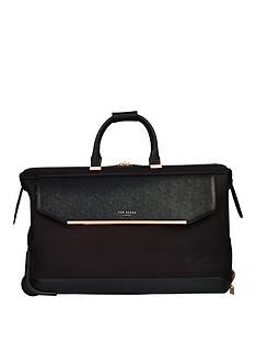 fd08d3d55dcbb Ted Baker Albany Wheeled Trolley Duffle