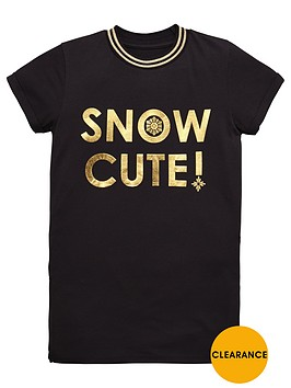 v-by-very-girls-snow-cute-foil-t-shirt