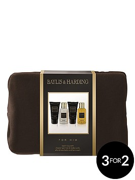 baylis-harding-mens-black-pepper-amp-ginseng-wash-bag