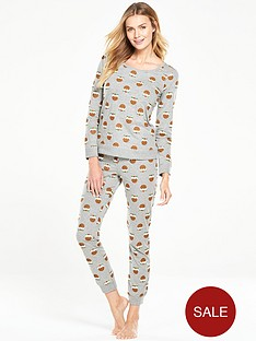 v-by-very-christmas-pudding-two-piece-pyjama-setnbsp