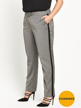 v-by-very-curve-striped-side-trouser