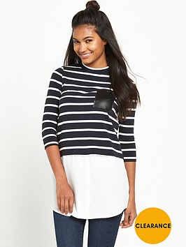 river-island-long-sleeve-stripe-top