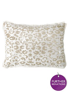 by-caprice-animale-sequin-cushion-cover-in-champagne