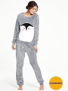 v-by-very-penguin-fleece-twosie-pyjamas