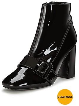 office-archienbspblock-heel-patent-ankle-bootnbsp