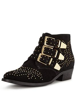 office-alloy-buckle-detail-ankle-boot