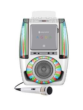 the-singing-machine-sml605-agua-white