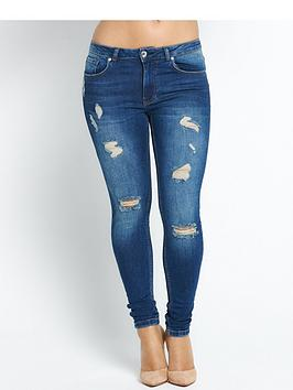 myleene-klass-distressed-skinny-jeans-indigo-wash