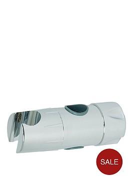 triton-riser-rail-shower-head-handset-holder-white-19mm