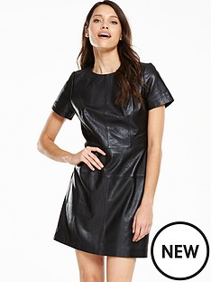 v-by-very-lux-leather-premium-dress