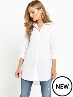 hilfiger-denim-stretch-cotton-shirt-classic-white