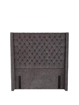 very-boutique-from-airsprung-hayworth-headboard-grey