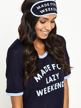 chelsea-peers-chelsea-peers-lazy-weekends-night-shirt-and-eye-mask-set