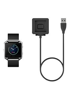 fitbit-blaze-black-charging-cable
