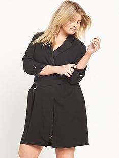 ri-plus-tuxedo-wrap-dress