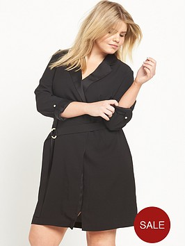 ri-plus-tuxedo-wrap-dress