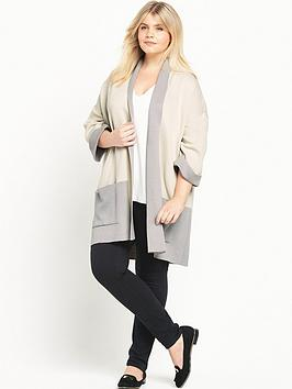 ri-plus-colourblock-cardigan
