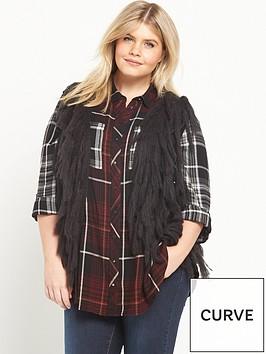ri-plus-sleeveless-tassle-cardigan