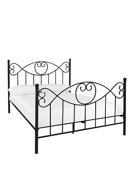 juliette-metal-bed-frame-with-mattress-options-buy-and-savenbsp