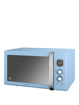 swan-25-litre-retro-digital-combi-microwave-with-grill-blue