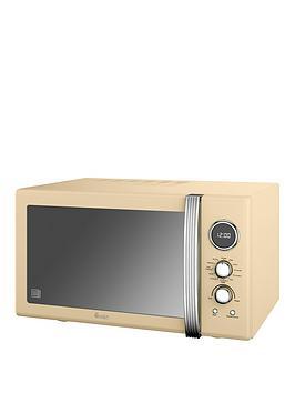 swan-25-litre-retro-digital-combi-microwave-cream