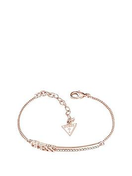 guess-rose-gold-plated-bar-bracelet