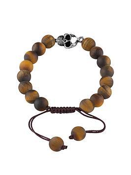guess-tigers-eye-semi-precious-skull-bracelet
