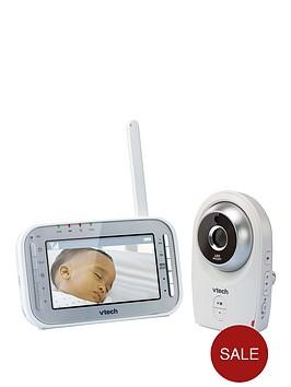 vtech-safe-amp-sound-white-noise-video-baby-monitor-bm4400-vm341