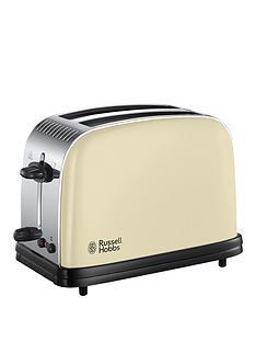 russell-hobbs-23334-colours-plus-2-slice-toaster-cream