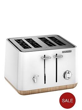 morphy-richards-aspect-steel-4-slice-toaster-whitewood