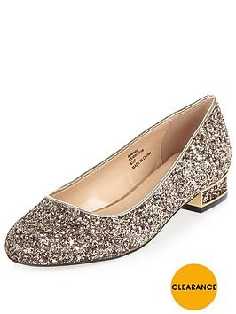 river-island-glitter-block-heel-ballet-shoe
