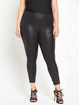 ri-plus-black-marble-coated-legging