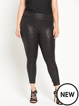 ri-plus-black-marble-coated-legging