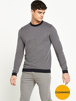 river-island-zag-zag-knitted-jumper