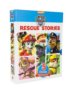 paw-patrol-paw-patrol-rescue-stories-5-books-collection