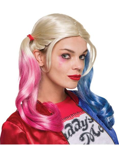 suicide-squad-harley-quinn-wig