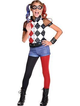 Dc Super Hero S Deluxe Harley Quinn Childs Costume