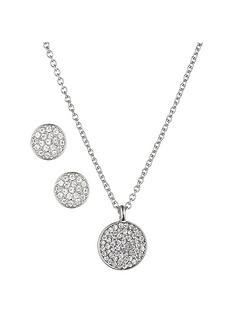 anne-klein-silver-tone-crystal-disc-necklace-and-earring-set