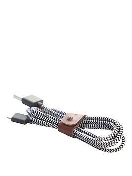 native-union-belt-lightning-zebra-12m-micro-usb-cable