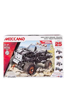 meccano-25-model-set-4x4-truck