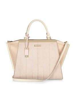 river-island-stitch-detail-winged-tote