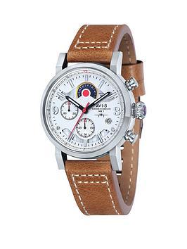 avi-8-avi-8-hawker-hurricane-white-dial-tan-leather-strap-mens-watch