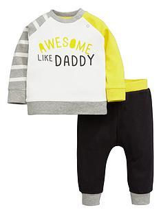 ladybird-baby-boys-slogan-sweat-top-and-joggers-set