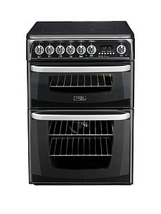 cannon-ch60ekksnbsp60cm-double-oven-electric-cooker-with-ceramicnbsphob-black