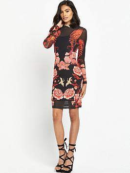 river-island-river-island-long-sleeve-floral-mesh-dress