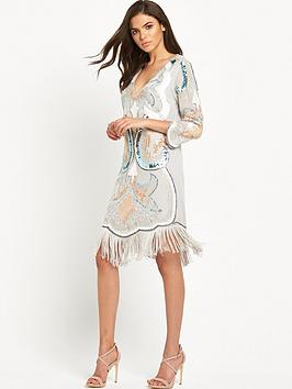 maya-embellished-plunge-front-tassel-mini-dress-greyblue