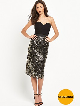 rare-sequin-midi-dress