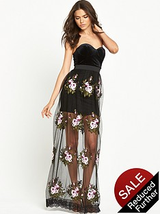 rare-limited-edition-maxi-dress-black