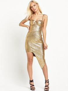 rare-metallic-asymmetric-dress-gold